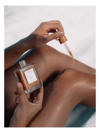 Majoie maldives self tanning drops made in maldives to empower women in local islands