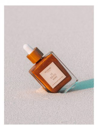 Majoie maldives shimmering body oil made in maldives to empower women in local islands