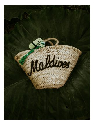 Maldives tote beach bag made to empower women