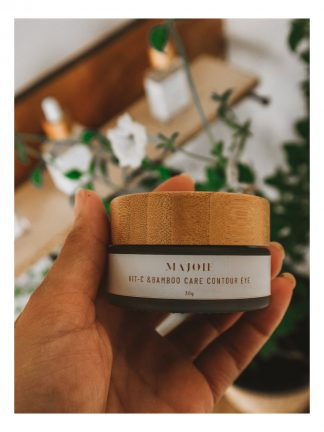 majoie maldives vitamin C & bamboo eye contour gel